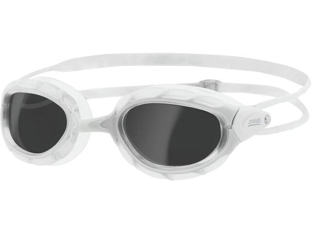 Zoggs Predator Gafas, white/white/smoke